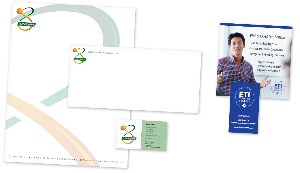 Logo design, stationary, business card and marketing promotion card